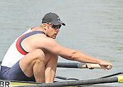 Caversham, Great Britain.  GBR M4-, Bow, Alex PARTRIDGE,  GB Rowing media day, GB Rowing Training Centre, Caversham. Tuesday,  18/05/2010 [Mandatory Credit. Peter Spurrier/Intersport Images]