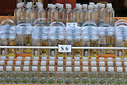 Israel, Yardenit Baptismal Site In the Jordan River Near the Sea of Galilee, Jordan River water in bottles for sale