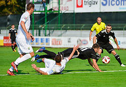 Ziga Kous of NS Mura during football match between NS Mura and NK Rudar Velenje in 13th Round of Prva liga Telekom Slovenije 2018/19, on October 20, 2018 in Mestni stadion Fazanerija, Murska Sobota , Slovenia. Photo by Mario Horvat / Sportida