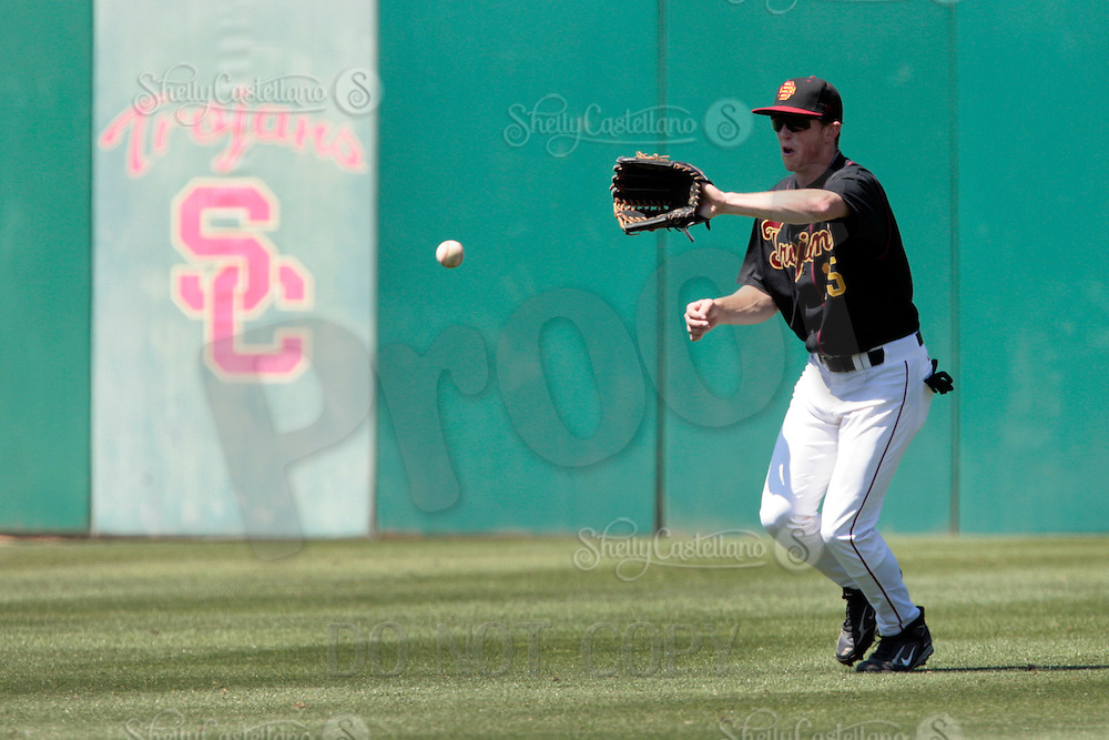 28 March 2009: #35 Billy Pinkerton  of the USC Trojans Baseball team during a 10-1 loss to Arizona State Sun Devils at Dedeaux Field in Los Angeles.