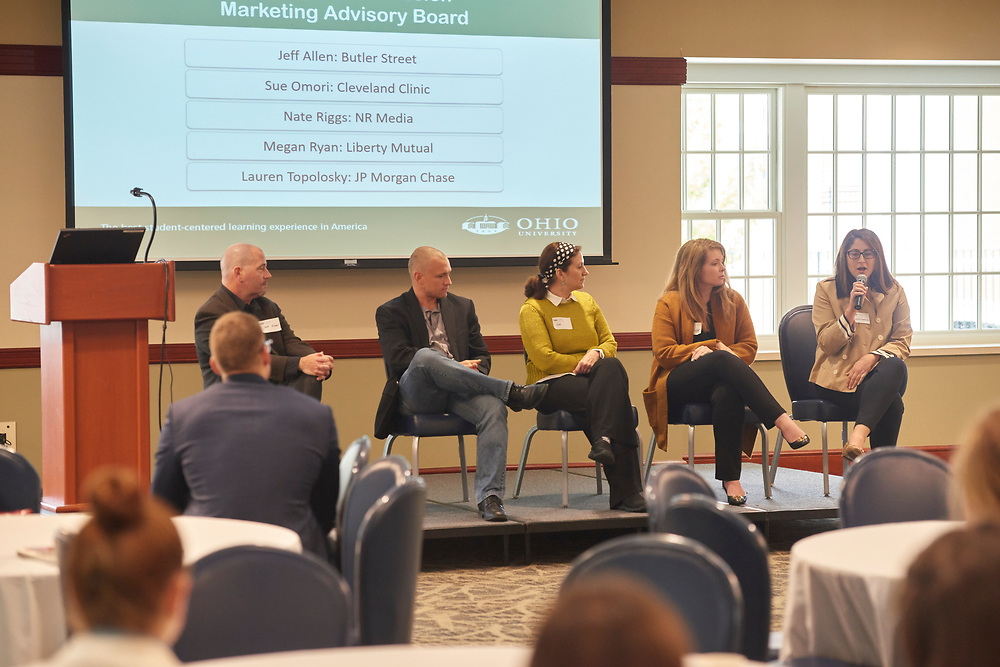 The Marketing Advisory Board answers student questions.