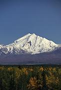 Mount Sanford, Fall, Wrangell-St. Elias National Park, Alaska