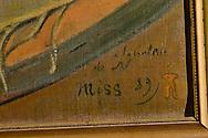 Roma 2 Aprile 2014<br />  I carabinieri del Comando tutela patrimonio culturale hanno recuperato due capolavori dell'Impressionismo francese rubati a Londra nel 1970. Si tratta di un'opera di Gauguin intitolata 'Fruits sur une table ou nature morte au petit chien' ('Frutti su una tavola o natura morte con cagnolino') e del dipinto di Bonnard 'La femme aux deux fauteuils', ossia 'Donna con due poltrone'. L'opera di Gauguin, stando alle quotazioni attuali, sottolineano dal Comando carabinieri Tpc, ha un valore compreso tra i 15 ed i 35 milioni di euro, mentre quella di Bonnard si aggira intorno ai 600 mila euro. Il cagnolino posto in basso, accanto alla firma dell'artista Paul Gauguin,  e datato 1889.<br /> Rome 2 April 2014<br /> The Carabinieri of the Command it protects cultural patrimony , have recovered two masterpieces of the French impressionism stolen in London in 1970. It is a work of Gauguin titled 'Fruits sur une table ou nature morte au petit chien' ('Fruit on a table or death nature with little dog') and Bonnard's painting 'La femme aux deux fauteuils', i( Woman with two armchairs). The work of Gauguin, according to current prices emphasize the Carabinieri TPC Command, has a value between 15 and 35 million Euros, while that of Bonnard is around 600 thousand euro. The little dog at the bottom , next to the signature of the artist Paul Gauguin, and dated 1889.