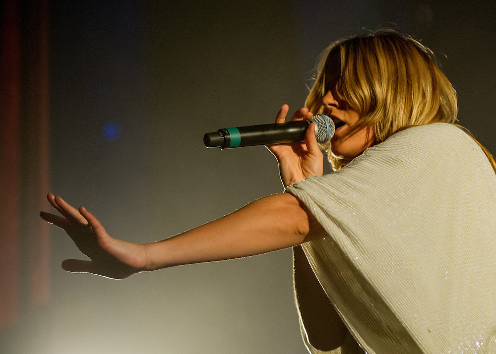 Grace Potter & the Nocturnals perform at the Moore theater in Seattle during their Roar tour. Photo by John Lill