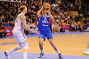 Vannes 17 Giugno 2013 <br /> Eurobasket Women 2013<br /> Italia - Russia<br /> Nella foto: alessandra formica<br /> Foto Ciamillo