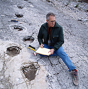 "An eighth-century landslide in the Alps above Trento, Italy, inspired Dante's metaphorical stairway to hell in the ""Inferno"" and later revealed dinosaur tracks, like those studied by Giuseppe Leonardi of Venice."
