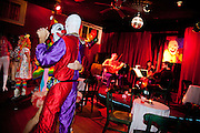 "New Orleans Radical Faeries' St. Brigid Ball, ""Clowns-Only Luau"", at the AllWays Lounge"