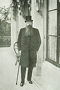 President M.T. Steyn was born in 1857, educated at the Grey College, and studied at Amsterdam and in London, where he was appointed a judge in 1889 and State President of the Orange Free State in 1895.