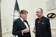 SIR JOHN MADEJESKI; ARCHBISHOP OF CANTERBURY, Royal Academy Annual Dinner 2013. Piccadilly. London. 4 June 2013.