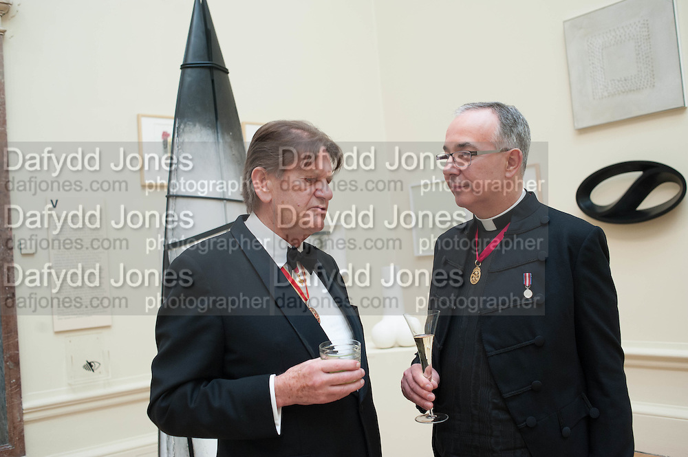 SIR JOHN MADEJESKI; ARCHBISHOP OF CANTERBURY, Royal Academy Annual Dinner 2013. Piccadilly. London. 4 June 2013.
