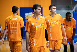 Uros Sikanic KK Helios Suns during 9. round of Slovenian national championship between teams Helios Suns and Zlatorog Lasko in Sport Hall Domzale on 30. November 2019, Domzale, Slovenija. Grega Valancic / Sportida