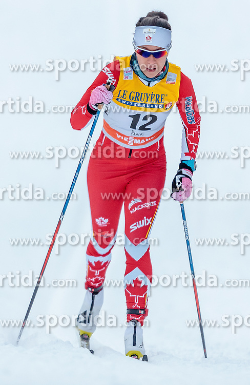 27.11.2016, Nordic Arena, Ruka, FIN, FIS Weltcup Langlauf, Nordic Opening, Kuusamo, Damen, im Bild Emily Nishikawa (CAN) // Emily Nishikawa of Canada during the Ladies FIS Cross Country World Cup of the Nordic Opening at the Nordic Arena in Ruka, Finland on 2016/11/27. EXPA Pictures © 2016, PhotoCredit: EXPA/ JFK