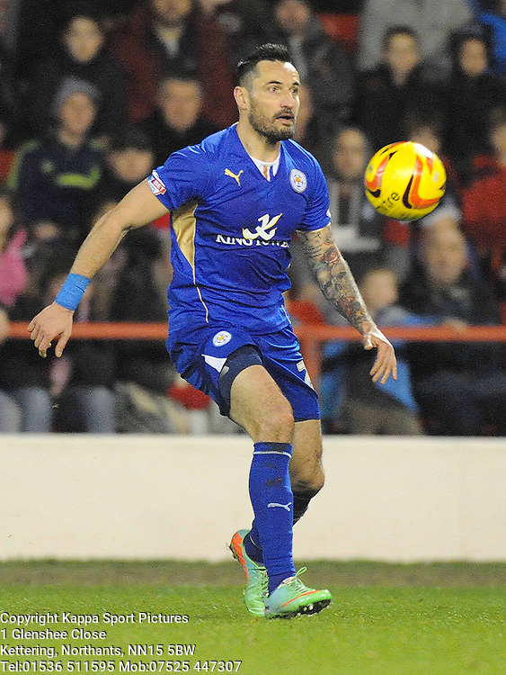 MARCIN WASILEWSKI, LEICESTER CITY, Nottingham Forest v Leicester City, City Ground Nottingham,  Sky Bet Championship, 19th Febuary 2014