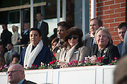 JOAN COLLINS, Hennessy Gold Cup, The Racecourse Newbury. 30 November 2013.
