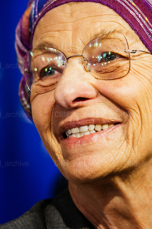 Emma Bonino after a meeting with Italian President Sergio Mattarella during the consultations of political parties at the Quirinale palace in Rome on 12 April 2018. Christian Mantuano / OneShot