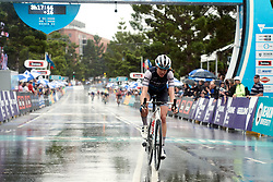 Tayler Wiles (USA) crosses the line in fourth place at the 2020 Cadel Evans Great Ocean Road Race - Deakin University Women's Race, a 121 km road race in Geelong, Australia on February 1, 2020. Photo by Sean Robinson/velofocus.com