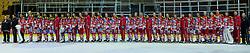 26.08.2011, Stadthalle, Klagenfurt, AUT, EBEL, im Bild Team KAC 2011/2012 , EXPA Pictures © 2011, PhotoCredit: EXPA/ Gert Steinthaler