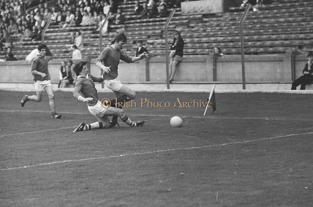 All Ireland U-21 Football Final. Cork v Fermanagh. Croke Park, Dublin. 19th September 1971. 19.09.1971.
