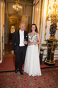 ILONA VON STRYK AULIN; JONAS LINDHOLM, The 20th Russian Summer Ball, Lancaster House, Proceeds from the event will benefit The Romanov Fund for RussiaLondon. 20 June 2015