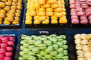 Macarons at Georges Larnicol Chocolatier, Paris, France