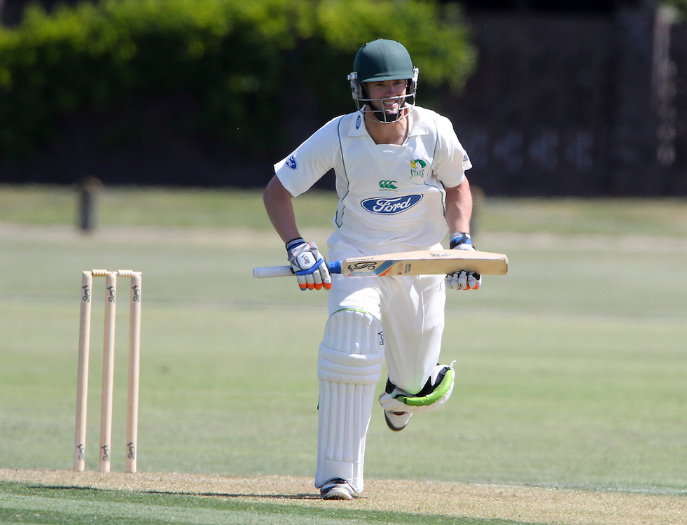 Central District's Carl Cachopa bats on his way to a century against Otago in the Plunket Shield cricket match at Nelson Park, Napier,  Zealand, Monday, November 26, 2012. Credit:SNPA / John Cowpland