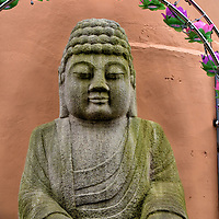 Buddha Statue near Yongdusan Park in Busan, South Korea<br />