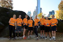 02-11-2013 ALGEMEEN: BVDGF NY MARATHON: NEW YORK <br /> Parcours verkenning en laatste training in het Central Park / Tessel, Thijs, Ewoud, Stefan, Jeroen, Erik, Leo en Martin<br /> ©2013-FotoHoogendoorn.nl