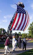 Hamptonburgh, New York - The Orange County Patriot Day September 11th Remembrance was held at the Orange County Arboretum at Thomas Bull Memorial Park on Sept. 11, 2016.