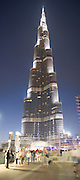 Burj Kalifa, the worlds tallest building, Dubai, United Arab Emirates. 24/11/2010