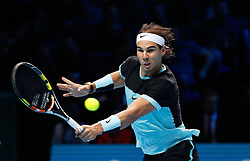 21-11-2015 GBR: ATP Tennis Tour Finals day 7, London<br /> Novak Djokovic (SRB) defeats Rafael Nadal (ESP) (photo) in semi-finals match by a score of 6-3, 6-3 during Day Seven Barclays ATP World Tour Finals from the O2 Arena<br /> <br /> ***NETHERLANDS ONLY***