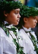 Hawaiian girl, Maui, Hawaii