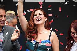 'Will & Grace' Start Of Production Kick Off Event And Ribbon Cutting Ceremony held at Universal City Plaza at Universal Studios on August 2, 2017 in Universal City, California. 02 Aug 2017 Pictured: Debra Messing. Photo credit: IPA/MEGA TheMegaAgency.com +1 888 505 6342