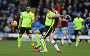 Brighton winger, Jamie Murphy (15) during the Sky Bet Championship match between Burnley and Brighton and Hove Albion at Turf Moor, Burnley, England on 22 November 2015.