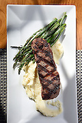 Mara Lavitt<br /> February 28, 2016<br /> For Connecticut Magazine<br /> The Mockingbird Kitchen &amp; Bar, Bantam. The New York steak.