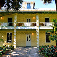 Museum of History in Fort Lauderdale, Florida<br /> The Fort Lauderdale Historical Society maintains a small neighborhood of early 19th century buildings plus an old schoolhouse replica along the Riverwalk. This was the New River Inn when it was built in 1905 using sand from the local beach to create the blocks.  It operated 24 guest rooms until 1955 and is now the Museum of History.  It is the oldest hotel building in Broward County.
