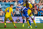Gillingham FC forward Mikael Ndjoli  (10) during the EFL Sky Bet League 1 match between Gillingham and Wycombe Wanderers at the MEMS Priestfield Stadium, Gillingham, England on 14 September 2019.