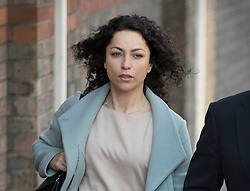 © Licensed to London News Pictures. 06/06/2016. Croydon, UK. Former Chelsea FC team doctor EVA CARNEIRO  arrives at Croydon Employment Tribunal. Carneiro is claiming constructive dismissal against Chelsea football club when Jose Mourinho was manager. Photo credit: Peter Macdiarmid/LNP