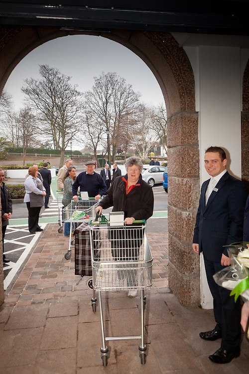 the staff of the St Helier Waitrose