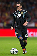 Fabricio Bustos of Argentina during the International friendly game football match between Spain and Argentina on march 27, 2018 at Wanda Metropolitano Stadium in Madrid, Spain - Photo Rudy / Spain ProSportsImages / DPPI / ProSportsImages / DPPI