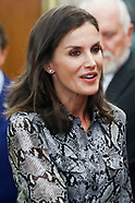 100719 Spanish Royals attend royal audiences