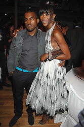 KANYE WEST and NAOMI CAMPBELL at the 10th annual GQ Men of the Year Awards held at the Royal Opera House, Covent Garden, London on 4th September 2007.<br />