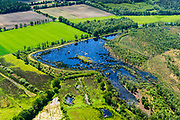 Nederland, Gelderland, Achterhoek, 29-05-2019; Achterhoek, omgeving Winterswijk, Wooldse veen. Ten zuiden van Woold, grens met Duitsland, gaat over in het Duitse Burlo-Vardingholter Venn. Hoogveengebied in beheer bij Natuurmonumenten.<br /> Achterhoek, Winterswijk area, Wooldse peat. Border with Germany.  <br /> <br /> luchtfoto (toeslag op standard tarieven);<br /> aerial photo (additional fee required);<br /> copyright foto/photo Siebe Swart