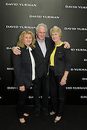 Jewelry designer David Yurman, center, poses with his wife, Sybil, left, and Barbara Nicklaus, wife of golfer Jack Nicklaus, during the David Yurman store opening in Palm Beach Gardens, Fla. (Photo by Phelan M. Ebenhack/for David Yurman)