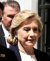 Hillary Clinton, BBC, London UK, 03 July 2014, Photo by Mike Webster