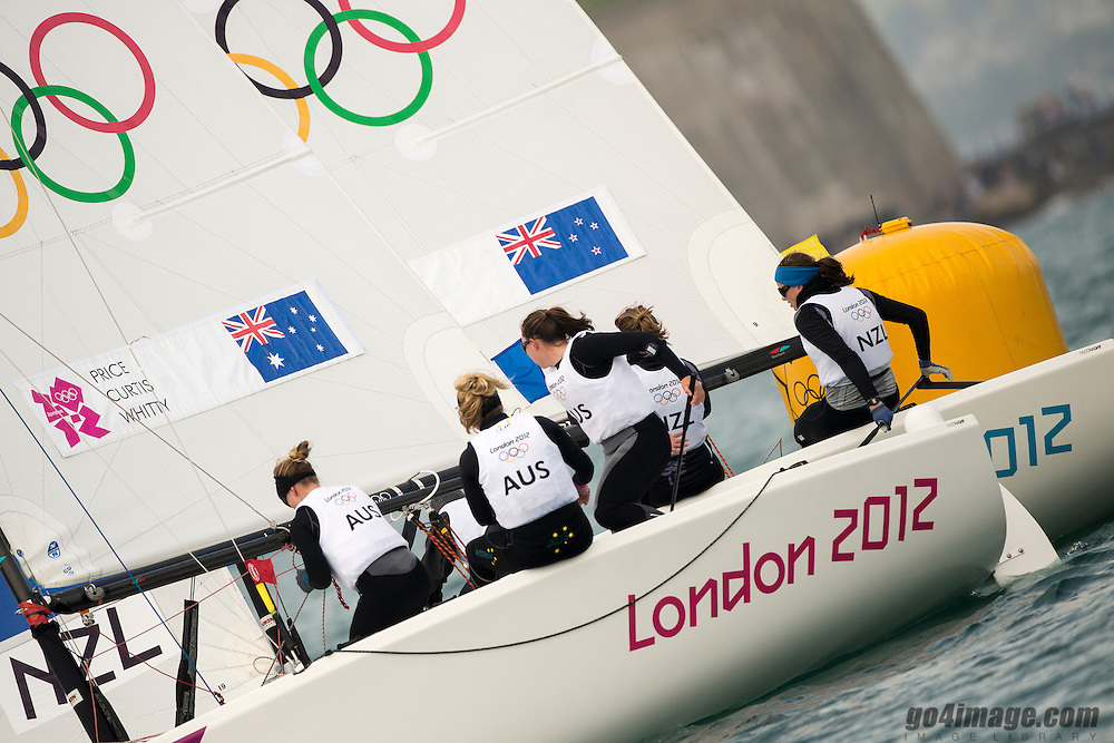 2012 Olympic Games London / Weymouth<br /> Matchrace day 3 round robin