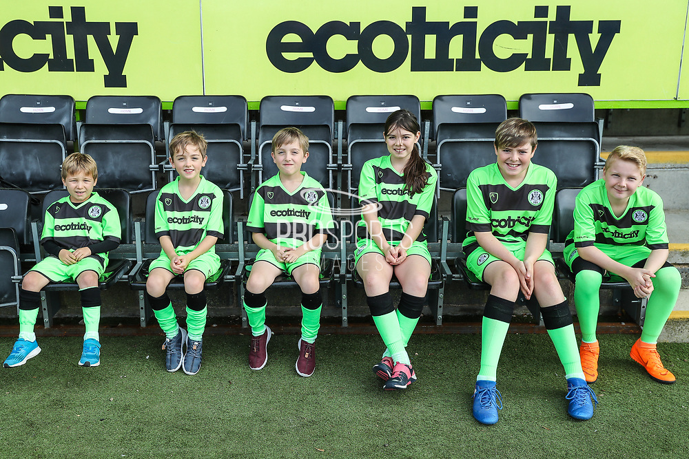 Forest Green Rovers mascots during the EFL Sky Bet League 2 match between Forest Green Rovers and Cheltenham Town at the New Lawn, Forest Green, United Kingdom on 20 October 2018.
