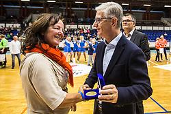 Marta Boh during Exhibition game of Slovenian women handball legends on 29th of September, Celje, Slovenija 2018