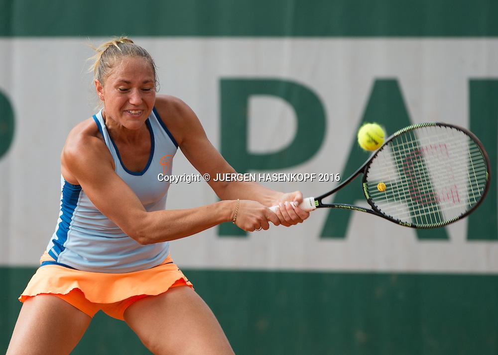 Kateryna Bondarenko (UKR)<br /> <br /> Tennis - French Open 2016 - Grand Slam ITF / ATP / WTA -  Roland Garros - Paris -  - France  - 25 May 2016.