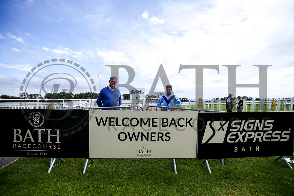 Bay Watch ridden by Tyler Heard and trained by Tracey Barfoot-Saunt wins the Attheraces.co.uk Handicap - Mandatory by-line: Robbie Stephenson/JMP - 18/07/2020 - HORSE RACING- Bath Racecourse - Bath, England - Bath Races 18/07/20