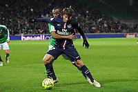 MAXWELL - 25.01.2015 - Saint Etienne / PSG  - 22eme journee de Ligue1<br />Photo : Jean Paul Thomas / Icon Sport